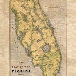 Florida Seat of War army map