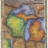 Michigan and Wisconsin
